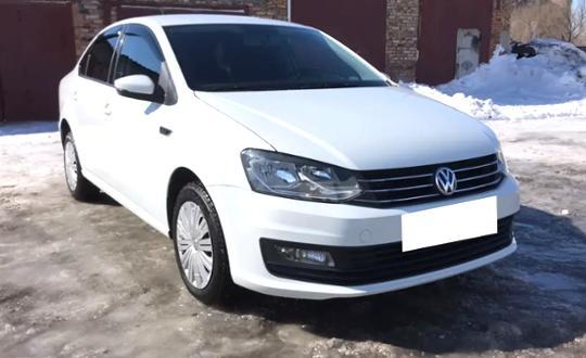 Volkswagen Polo 2018 года за 5 900 000 тг. в Караганда