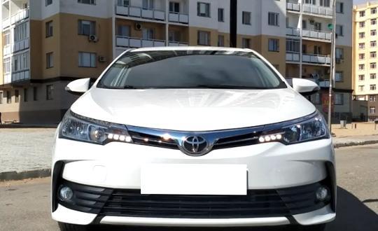 Toyota Corolla 2017 года за 8 200 000 тг. в Мангистауская область