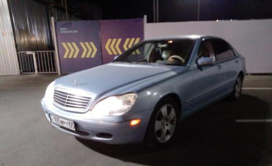 2000 Mercedes-Benz S-Класс