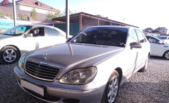 2002 Mercedes-Benz S-Класс