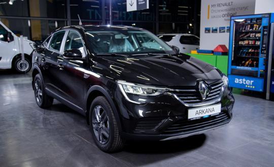 Renault Arkana 2020 года за 11 050 000 тг. в Алматы