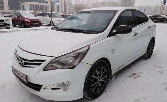 Hyundai Accent 2014 года за 3 800 000 тг. в Нур-Султан