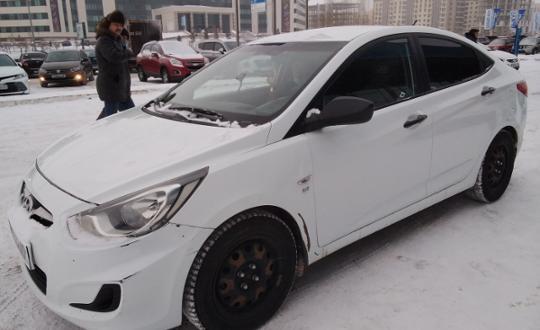 Hyundai Accent 2013 года за 3 400 000 тг. в Нур-Султан