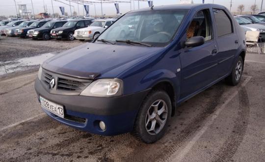 Renault Logan 2007 года за 1 550 000 тг. в Шымкент