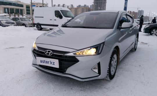 Hyundai Elantra 2019 года за 7 500 000 тг. в Нур-Султан