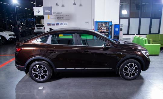 Renault Arkana 2020 года за 11 793 000 тг. в Алматы