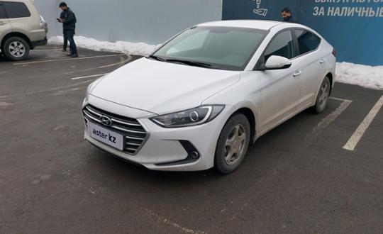 Hyundai Elantra 2018 года за 7 300 000 тг. в Алматы