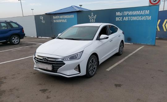 Hyundai Elantra 2020 года за 10 500 000 тг. в Алматы