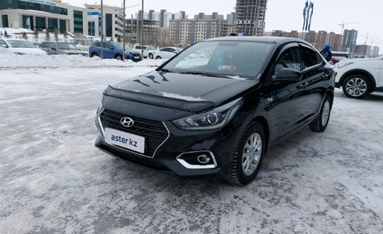 Hyundai Accent 2019 года за 6 800 000 тг. в Нур-Султан