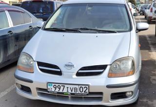Nissan Almera Tino 2000 года за 1 600 000 тг. в Алматы